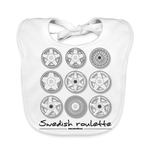 Bavoir - Swedish roulette - Bavoir bio Bébé