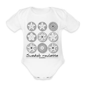 Body bébé - Swedish roulette - Body bébé bio manches courtes