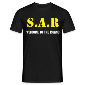SAR Welcome to The Island - Men's T-Shirt