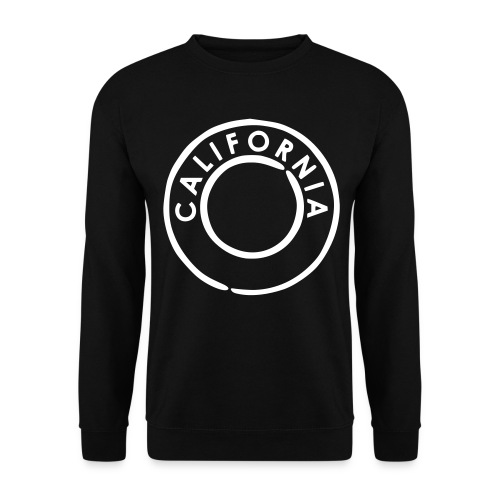 California Crew Neck Black - Männer Pullover