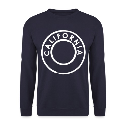 California Crew Neck Navy - Männer Pullover