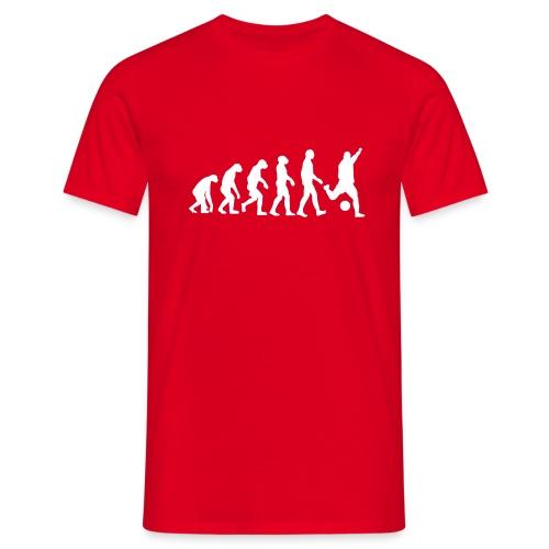 Fußball Evolution - Männer T-Shirt