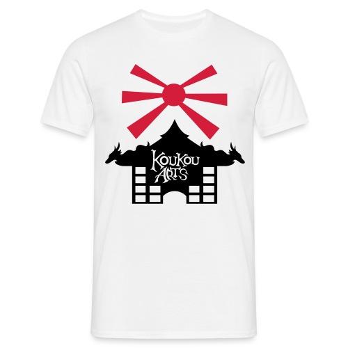 T shirt maison ensoleillée - T-shirt Homme