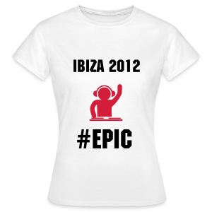 Ibiza 2012 EPIC - Women's T-Shirt