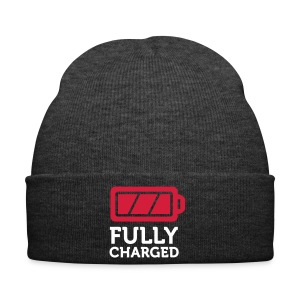 Fully Charged Winter beanie. - Winter Hat