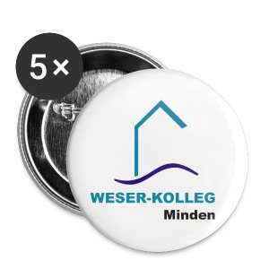 Button 56mm Weserkolleg Logo - Buttons groß 56 mm