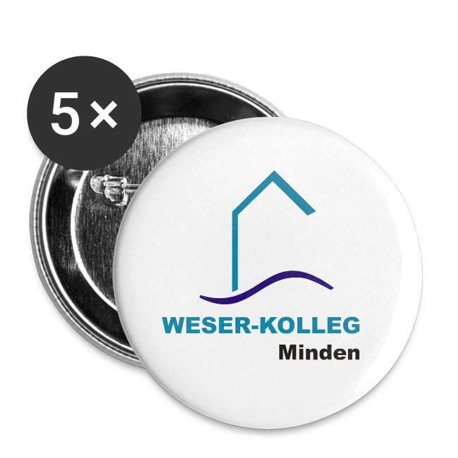 Button 25mm Weserkolleg Logo