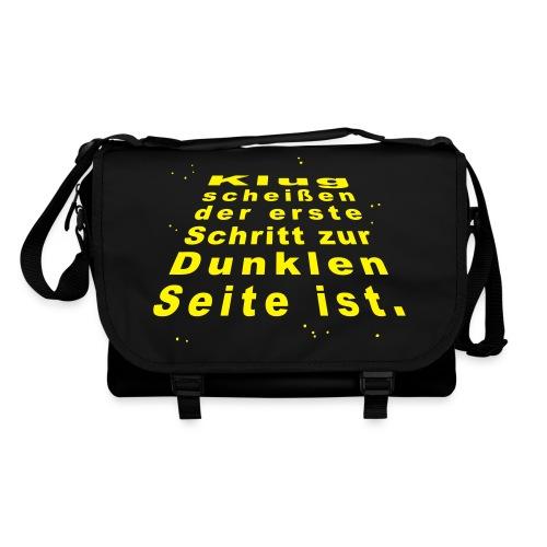 Klugscheißer-Tasche - Umhängetasche