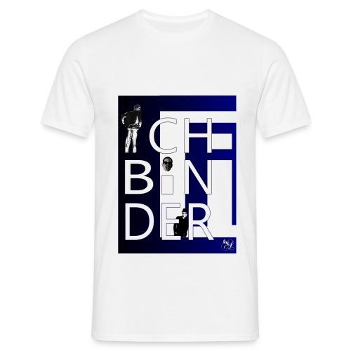 Ich bin der (Blau) - Männer T-Shirt