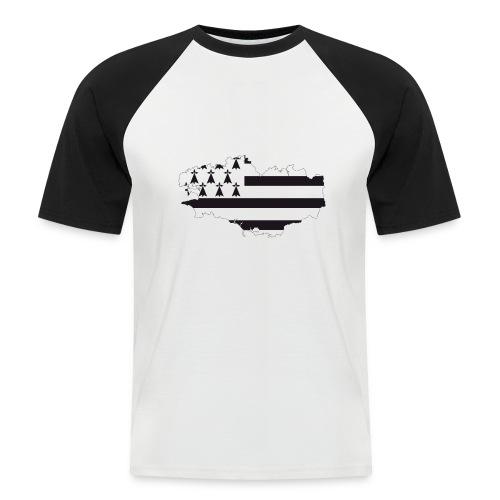 Bretagne - Männer Baseball-T-Shirt