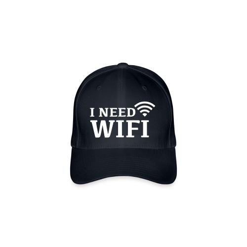 I need wifi. - Cap - Flexfit baseballcap