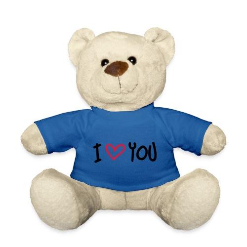 i love you knuffel - Teddy