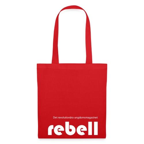 Tygväska med Rebells logga - Tygväska