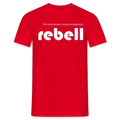 T-shirt med Rebells logga (herr) - T-shirt herr