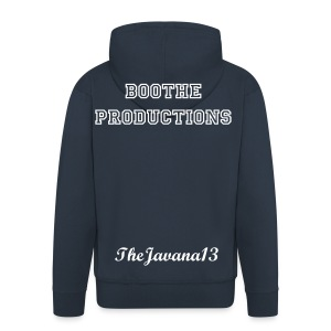 Boothe Productions Hoodie -Men - Men's Premium Hooded Jacket