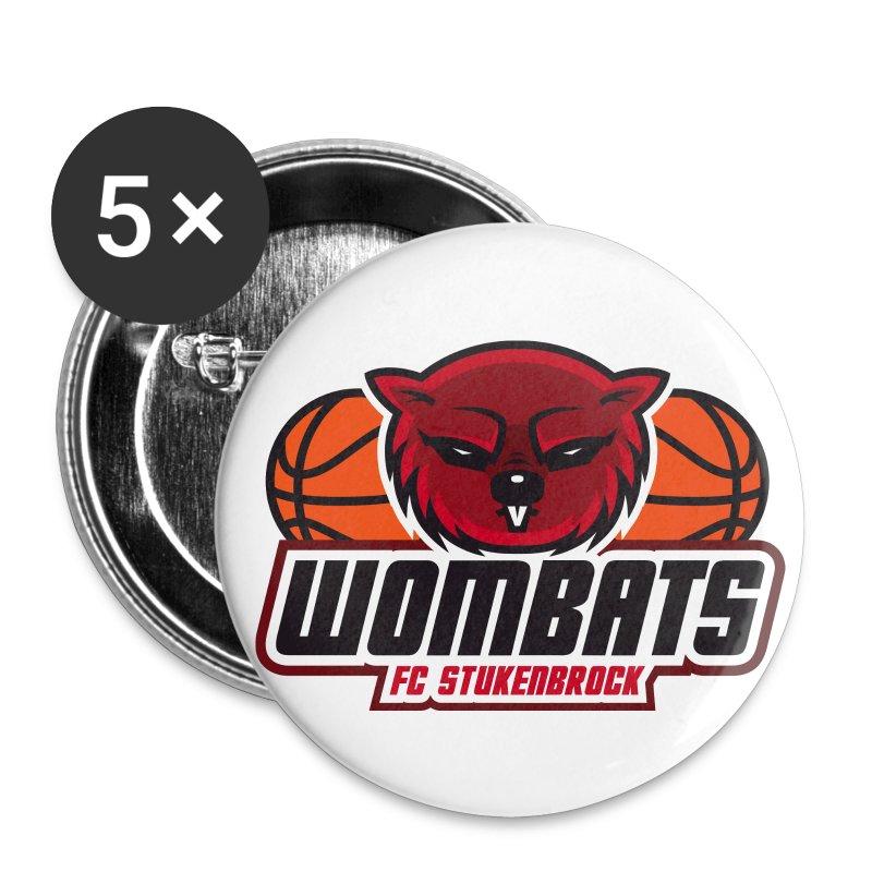 wombats - Buttons klein 25 mm
