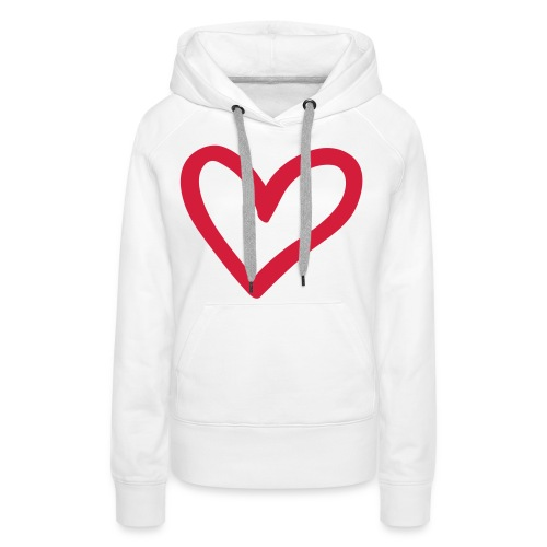 Love Clasic Vrouw - Vrouwen Premium hoodie