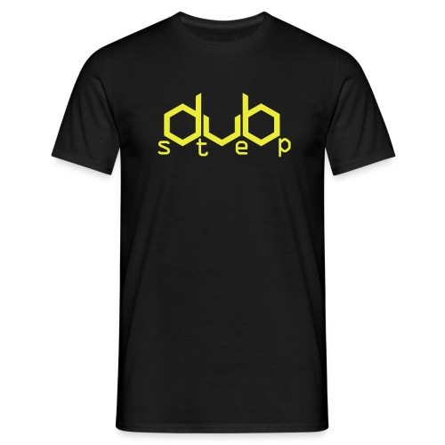 DubStep - neon yellow - Männer T-Shirt