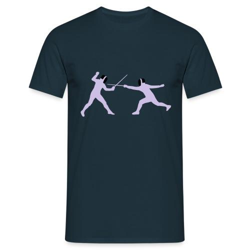 Tee shirt la boutique des escrimeurs - T-shirt Homme