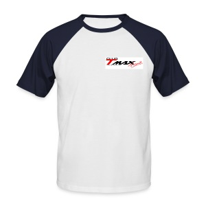 Promodoro rouge du Club - T-shirt baseball manches courtes Homme