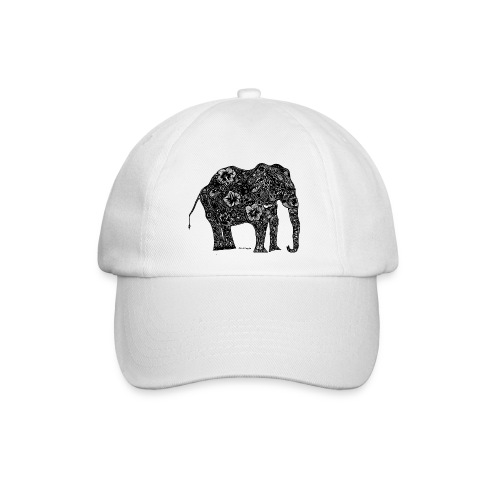 Chloë Coggin Black Elephant - Baseball Cap