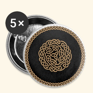 Celtic Ornament - Buttons klein 25 mm