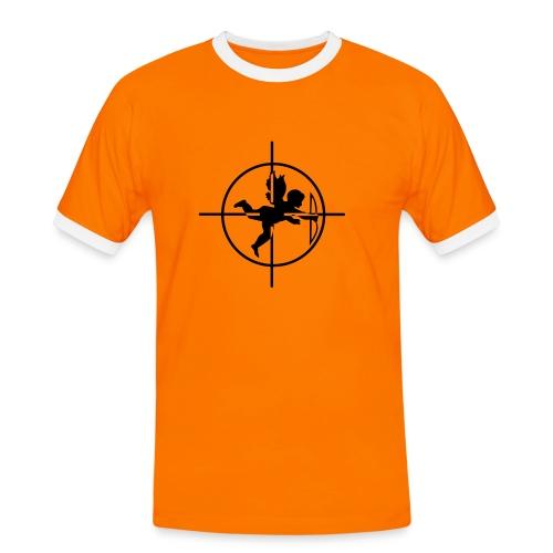 @ngel's cible - T-shirt contrasté Homme