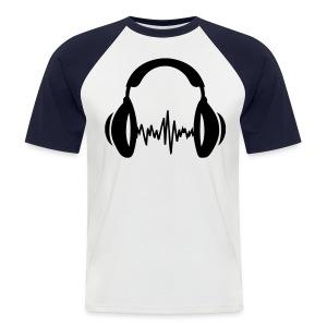 I love my music! - Men's Baseball T-Shirt
