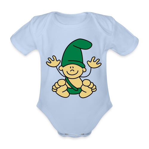 Baby! - Baby bio-rompertje met korte mouwen