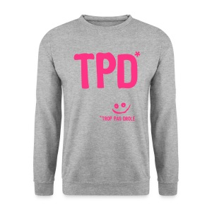 tpd trop pas drole smiley Sweat-shirts - Sweat-shirt Homme