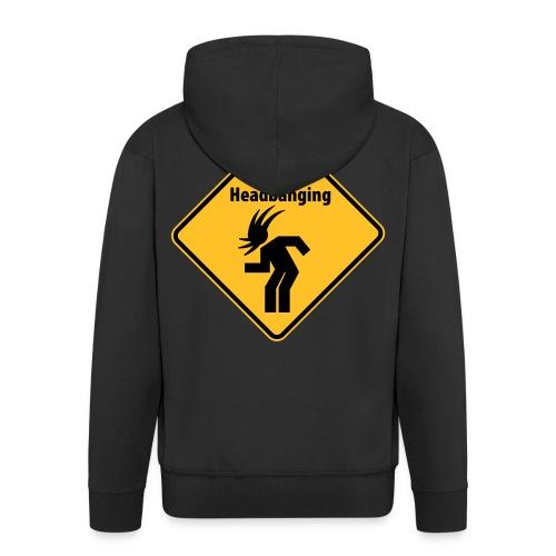 K-Jacke Headbang - Männer Premium Kapuzenjacke