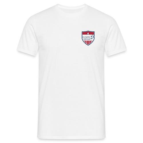 Olympic-White Standard - Männer T-Shirt