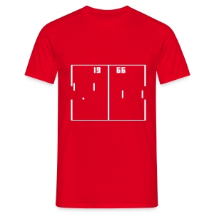 Pong Football - England - Men's T-Shirt