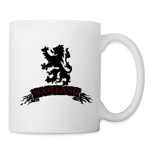 Scotland: Lion Rampant with Scroll - Mug