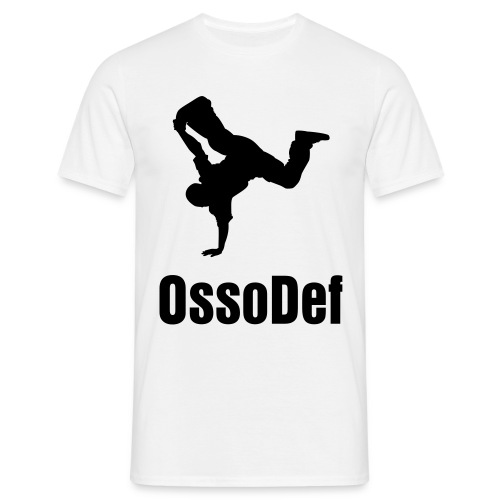 OssoDef Mens Urban T Shirt (White) - Men's T-Shirt