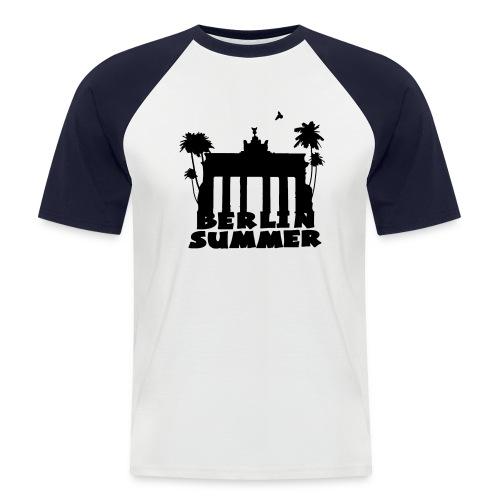 Berlin Summer Männer Baseballshirt - Männer Baseball-T-Shirt