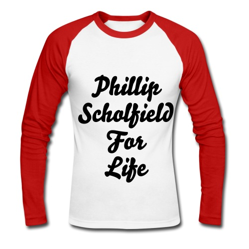 phill 4 like - Men's Long Sleeve Baseball T-Shirt