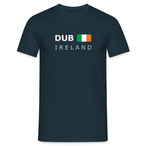 Classic T-Shirt DUB IRELAND white-lettered - Men's T-Shirt