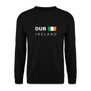 Men's Pullover T-Shirt DUB IRELAND white-lettered - Men's Sweatshirt