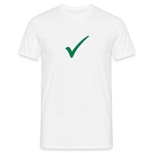 Check - T-skjorte for menn