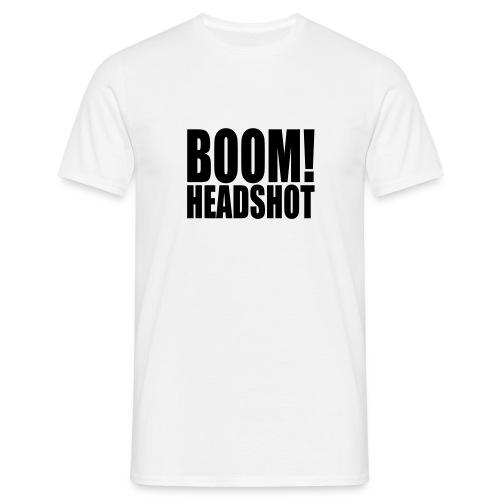 Headshot - T-skjorte for menn