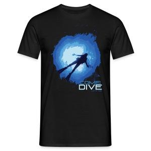 Come and dive with me - Koszulka męska