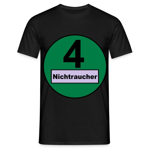 nichtraucher - Männer T-Shirt