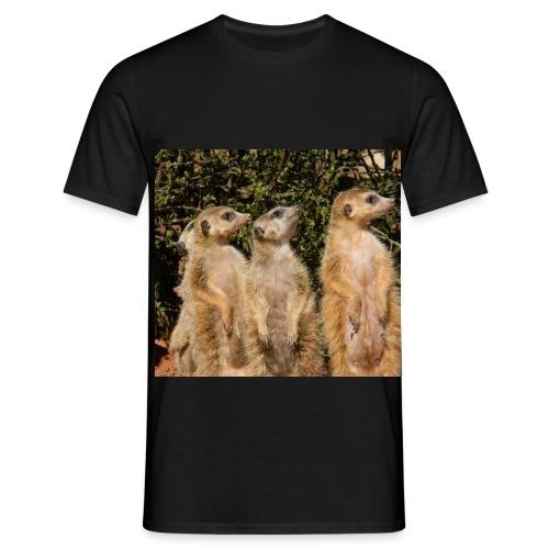 Erdmänchen - Männer T-Shirt