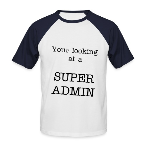 Super Admin SPECIAL EDITION T-shirt - Men's Baseball T-Shirt