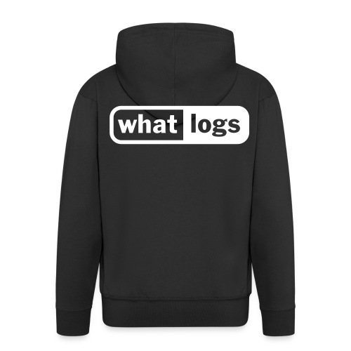 WhatLogs Hood Jacket - Premium-Luvjacka herr