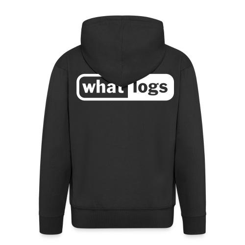 WhatLogs Hood Jacket - Premium-Luvjacka herr