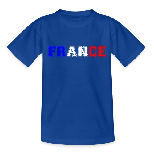 T-shirt Ado - France tricolore Heavy - T-shirt Ado