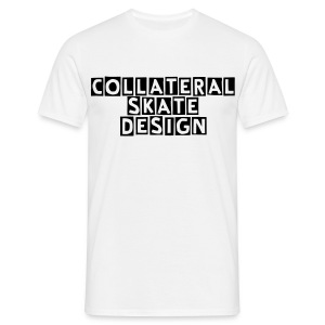 STANDARD SKATE COLLATERAL DESIGN - Men's T-Shirt