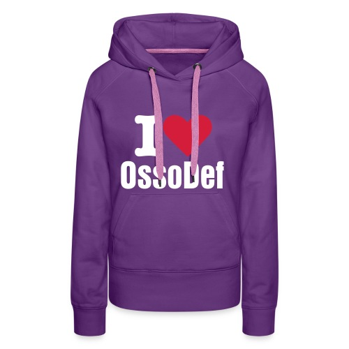 OssoDef Official Womans Hoody (Purple) - Women's Premium Hoodie